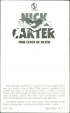 Nick Carter: Time Clock of Death. Valerie Moolman (Валери Мулмен)