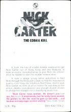Nick Carter: The Cobra Kill. Manning Lee Stokes