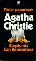 Elephants Can Remember. Agatha Christie (Агата Кристи)