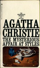 The Mysterious Affair At Styles, Agatha Christie на английском языке