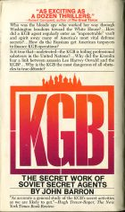 KGB: The Secret Work of Soviet Secret Agentes. John Barron (Джон Баррон)