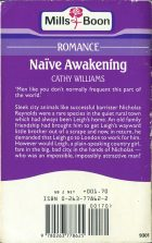 Naive Awakening. Cathy Williams (Кэтти Уильямс)