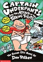 Captain Underpants and the Attack of the Talking Toilets. Dav Pilkey (Дэв Пилки)