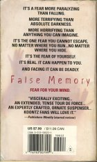 False Memory. Dean Koontz (Дин Кунц)